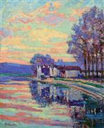The Seine at Samois 1898