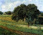 Trees and Flowers, Landscape in Damiette