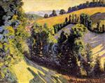 Valley in Pongibaud (Auvergne)