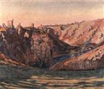 Valley of the Sedelle, Crozant 1897
