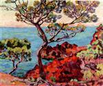 A View of a Bay at Agay