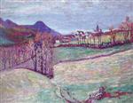 View of Puy de Dome 1900