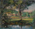 The Willow Pond, Ile-de-France