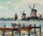 Windmills in Holland c.1904