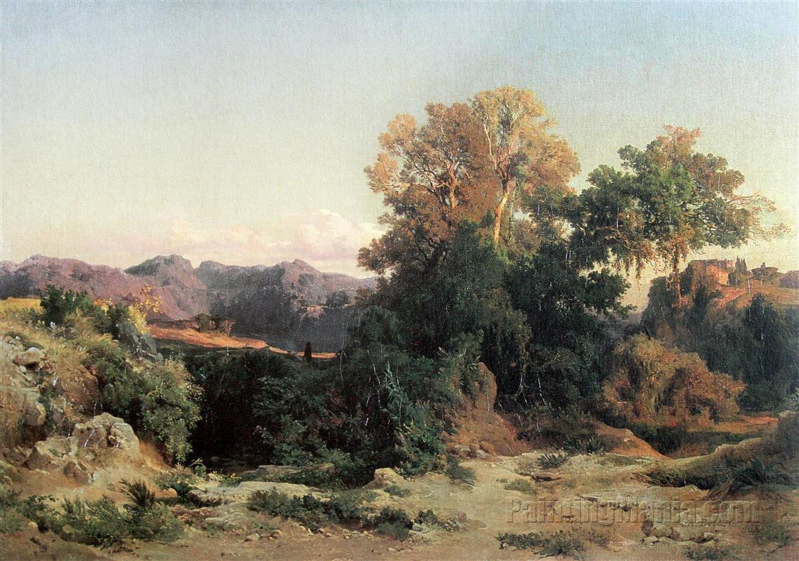 At Alban Hills