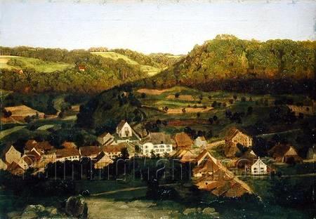 A View of the Village of Tenniken