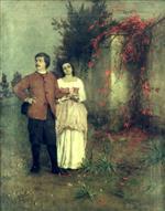 Boecklin Self-Portrait w.wife