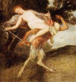 Nymph and Pan