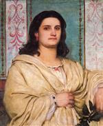 Portrait of Angela Bocklin as Muse