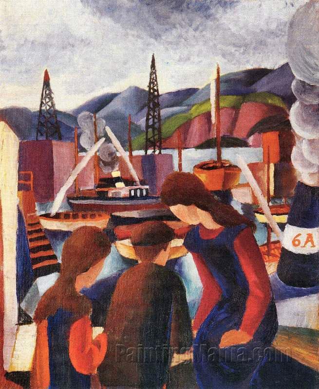 Children at the Port (I)