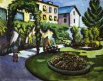 Garden Picture (The Macke's Garden in Bonn)