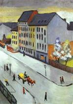 Our Street in Gray (Unsere Strasse in Grau)