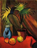 Still Life with Palms