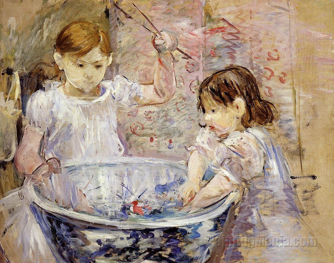 Children with a Bowl