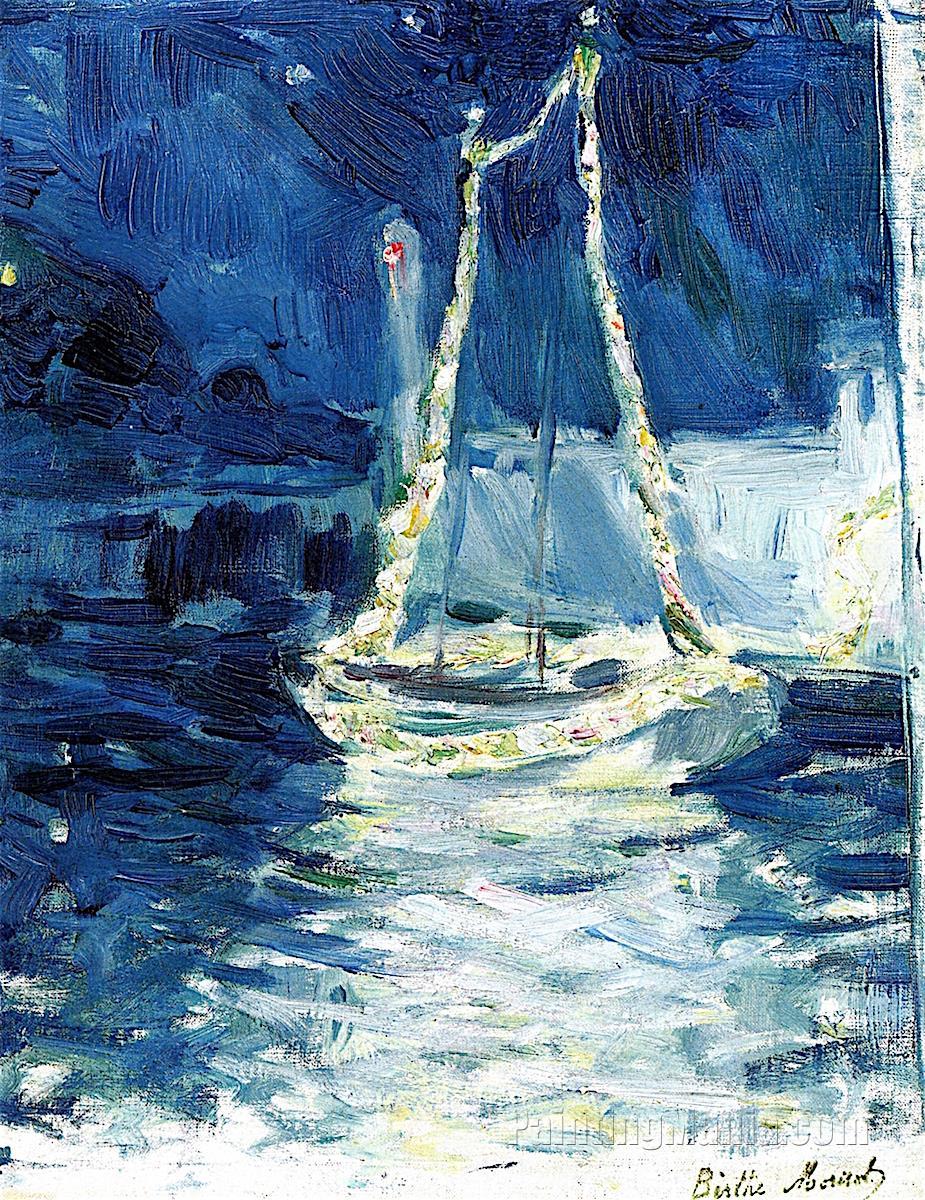 Illuminated Boat