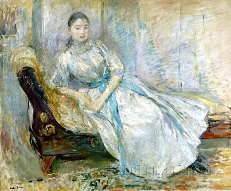 Madame Albine Sermicola in the Studio