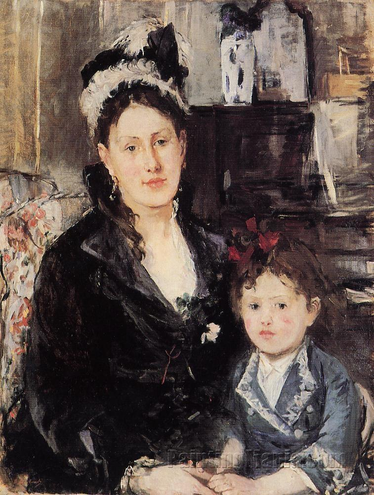Madame Boursier and Her Daughter
