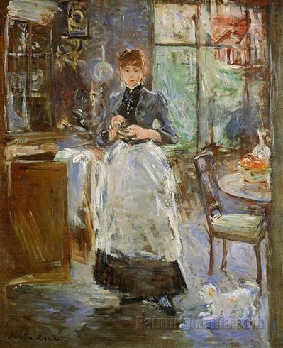 in the dining room berthe morisot paintings impressionism chapter 1 art history kcah 311 with