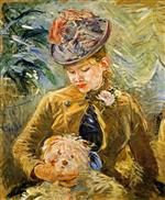 Girl with a Dog 1887