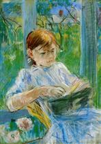 Portrait of the Artist's Daughter, Julie Manet, at Gorey
