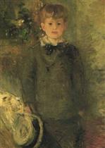 Portrait of Marcel Gobillard (Little Boy in Gray)