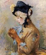 Woman Wearing Gloves (The Parisienne)