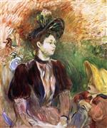 Young Woman and Child, Avenue du Bois