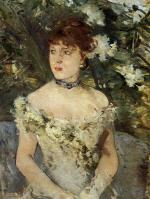 Young Woman Dressed for the Ball