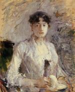 Young Woman in Mauve