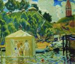 Bathing 1912