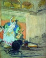 A Dancer in a Cabaret