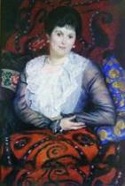 Portrait of Lyubov Borgman