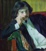 Portrait of Y.I. Lavrin
