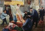 Statement of the Model in the Studio of Ilya Repin