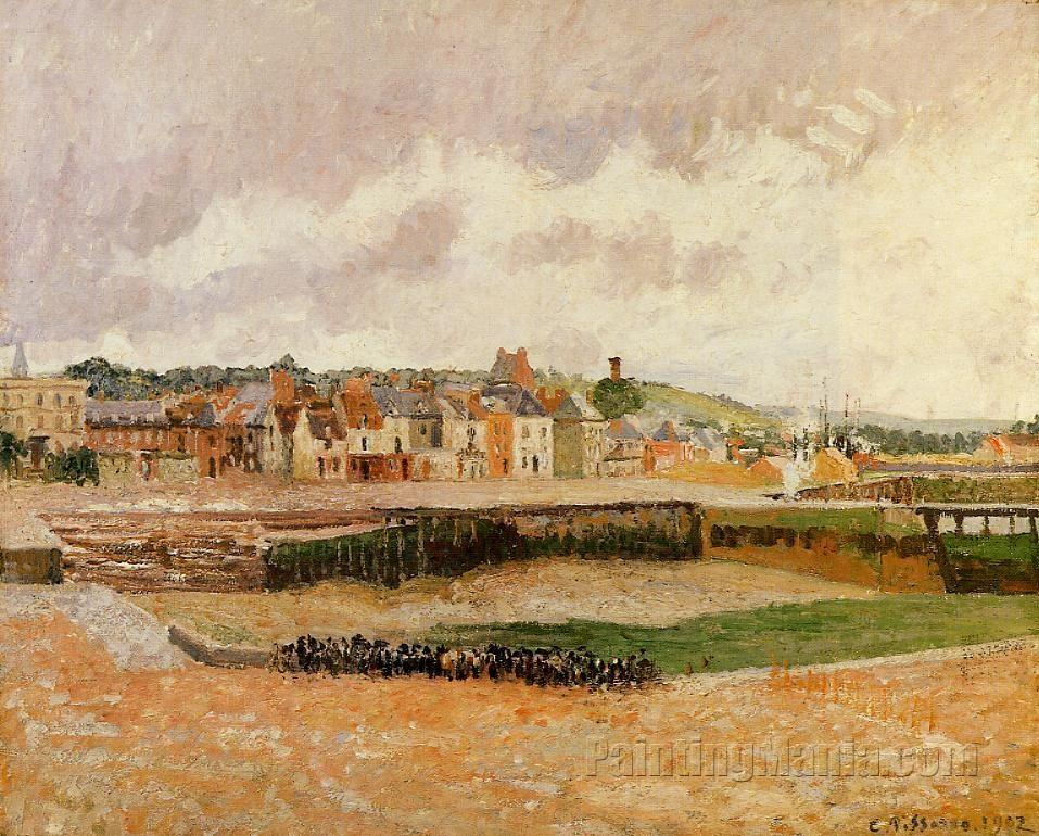 Afternoon, the Dunquesne Basin, Dieppe, Low Tide