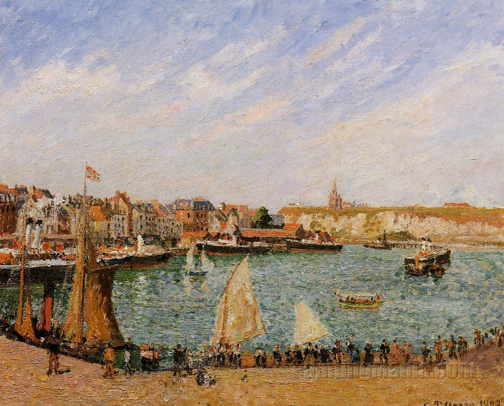 Afternoon, Sun, the Inner Harbour, Dieppe