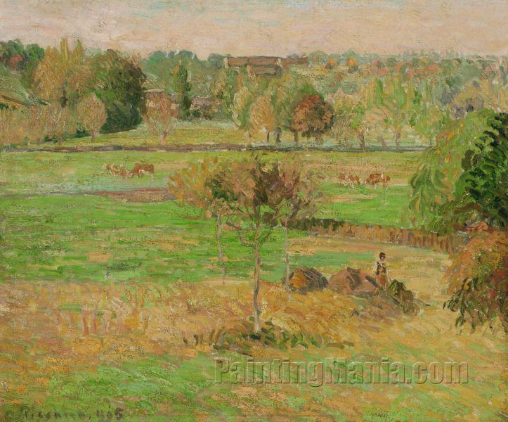 Autumn in Eragny