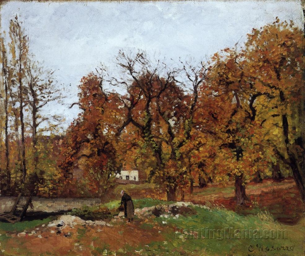 Autumn Landscape, near Pontoise