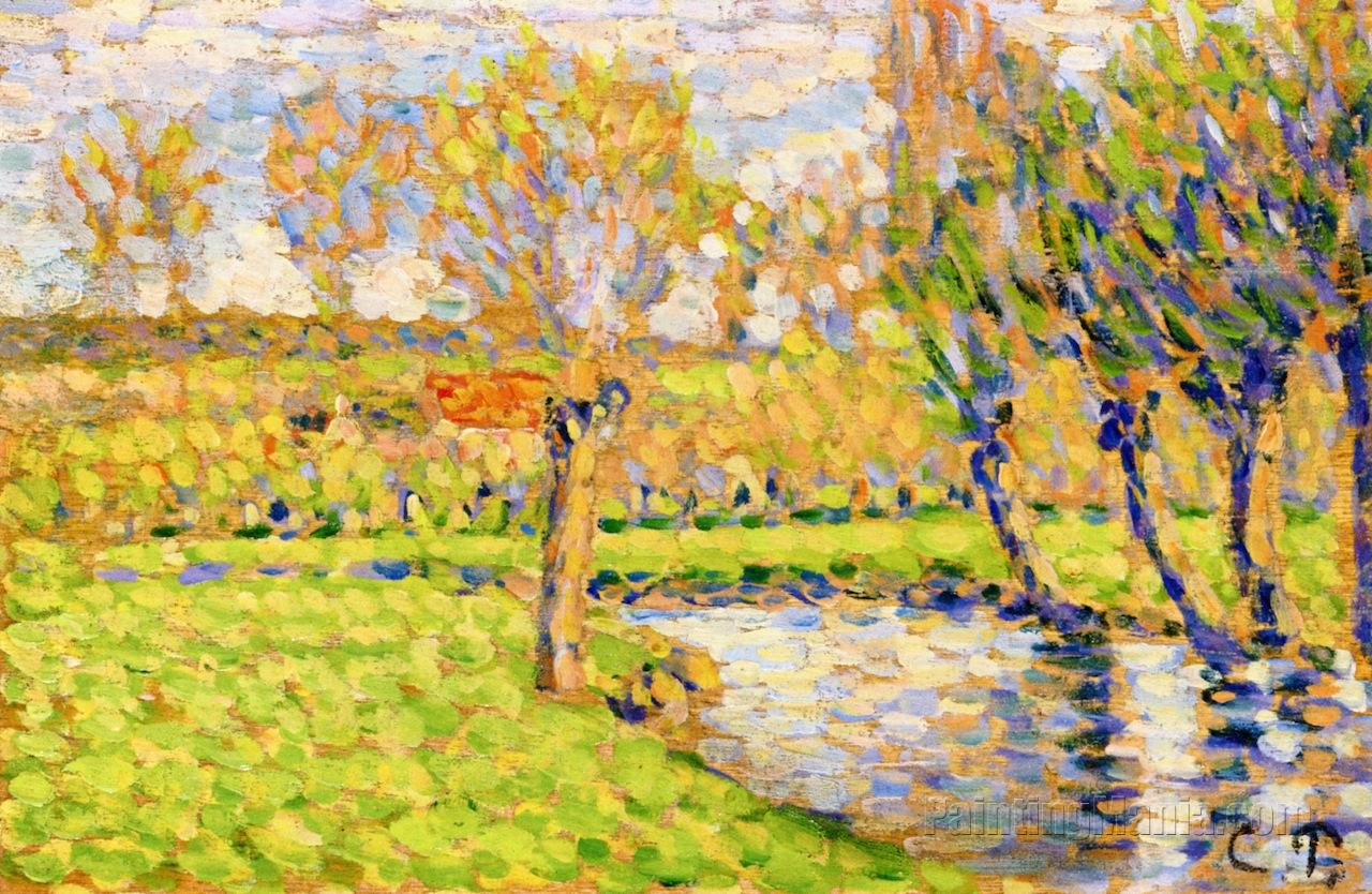 Banks of the Epte in Eragny