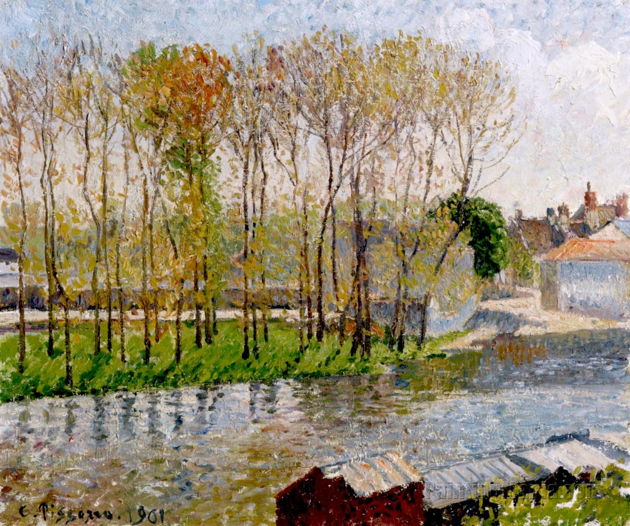 Banks of the Loing at Moret