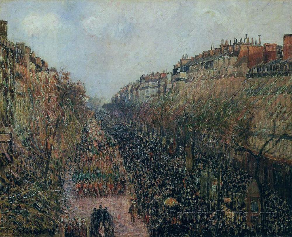 Boulevard Montmartre: Mardi-Gras