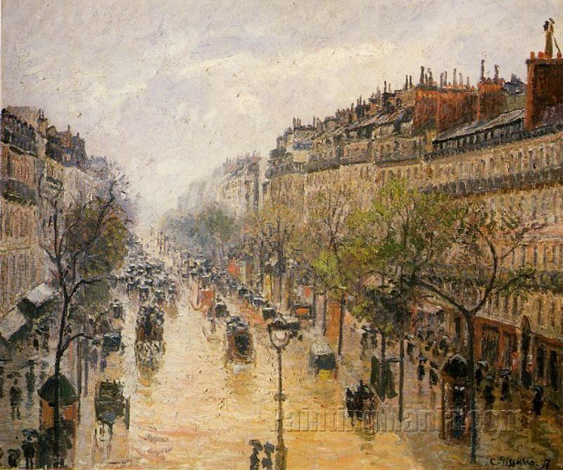 Boulevard Montmartre: Spring Rain
