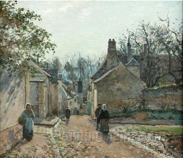 A Village Street, Louveciennes