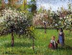 Apple Blossoms, Eragny