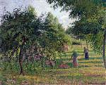 Apple Trees and Tedders, Eragny