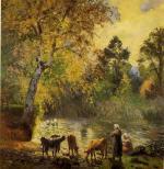 Autumn, Montfoucault Pond
