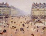 Avenue de l'Opera, Place du Thretre Francais: Misty Weather