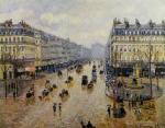 Avenue de l'Opera: Rain Effect