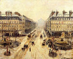 Avenue de l'Opera: Snow Effect 1898