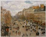 Boulevard Montmartre: Afternoon, Sunlight